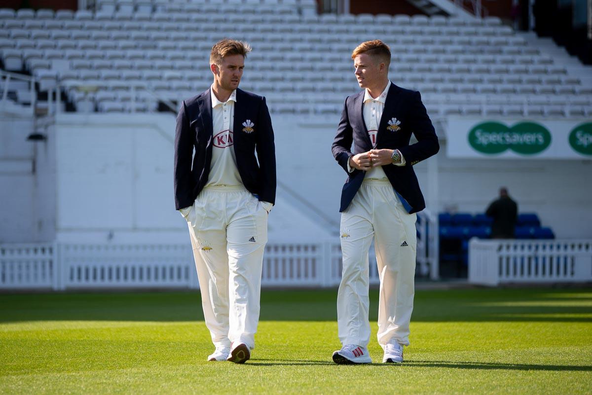 Surrey Cricket Press Day