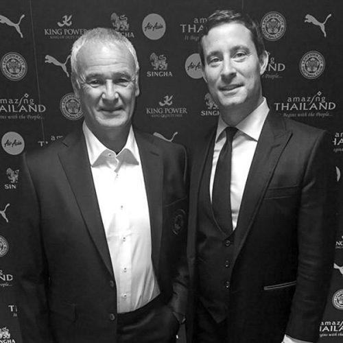 mccann bespoke ambassador Claudio Ranieri Sq