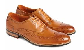 Tan Brogue Shoe | Simon Carter