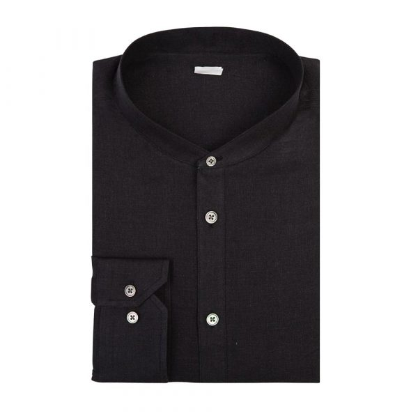 Black casual shirt sq