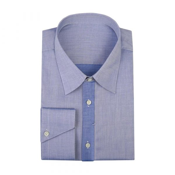 Blue casual shirt sq