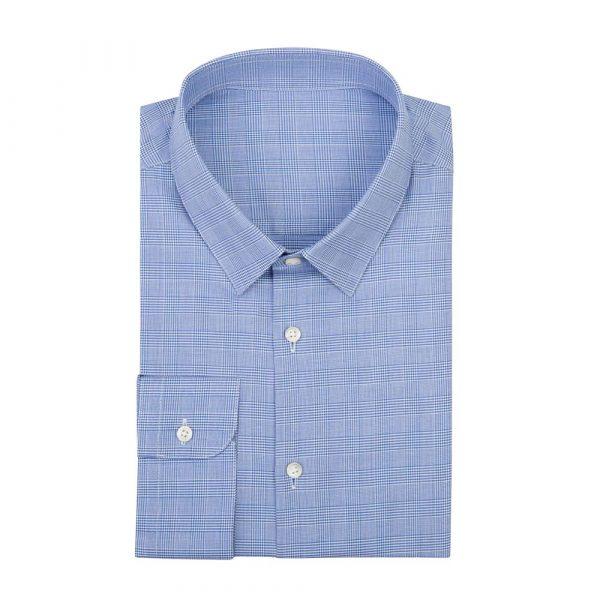 Blue patterned shirt sq 1