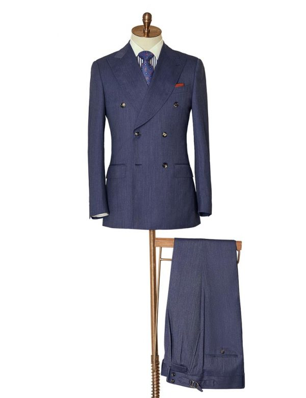 BlueMarlDoubleBreasted Suit 2