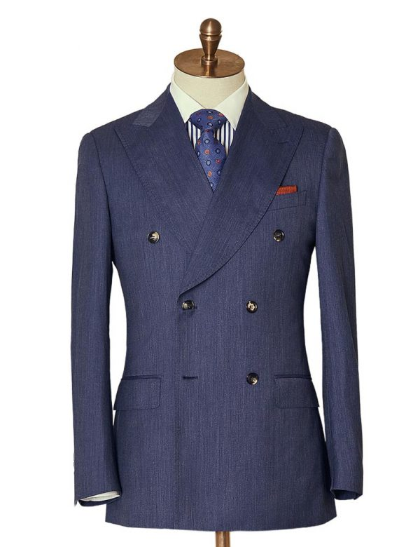 BlueMarlDoubleBreasted Suit