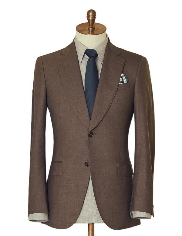 BrownTwoPiece Suit