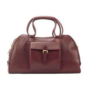 Burgundy Overnight Bag
