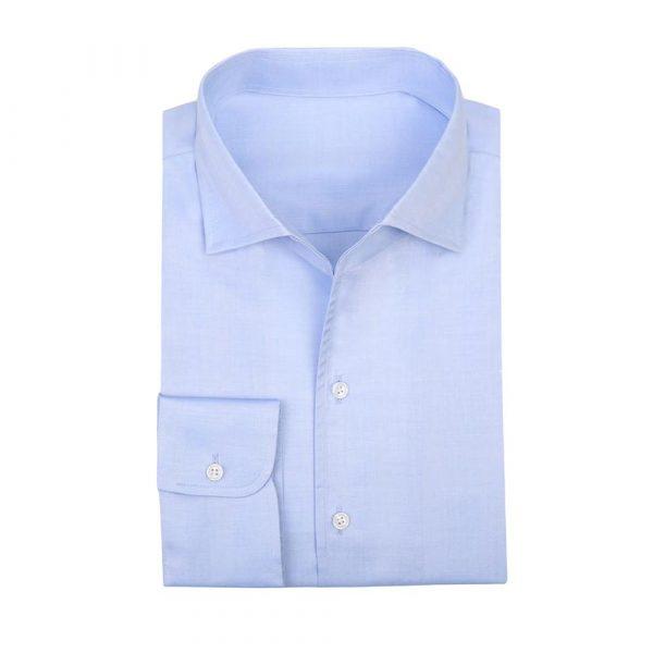 Light blue work shirt sq