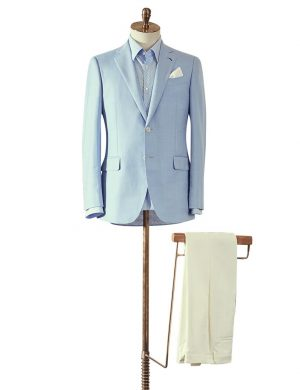 Light Blue Summer Jacket