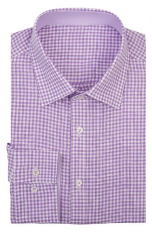Lilak Check Shirt