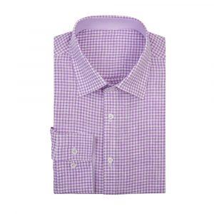 Lilac Gingham Shirt