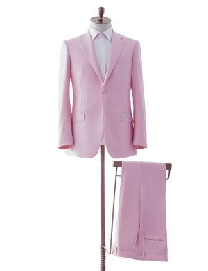 Pink Two Piece Suit