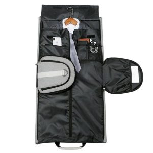 Suit Travel Duffle Black