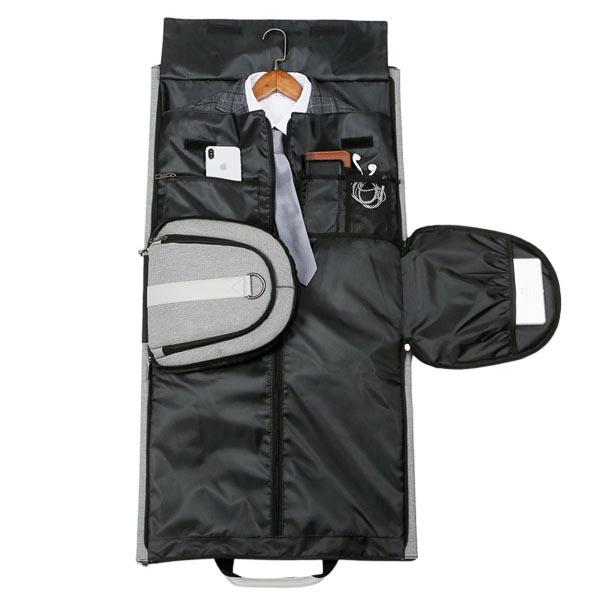 Suit Travel Duffle Black 2