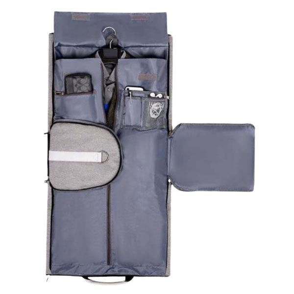 Suit. Travel Grey Duffle Grey 3