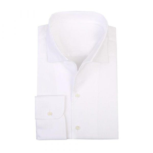 White poplin shirt sq