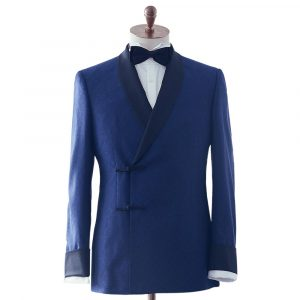 Asian Double Breasted Dinner Suit