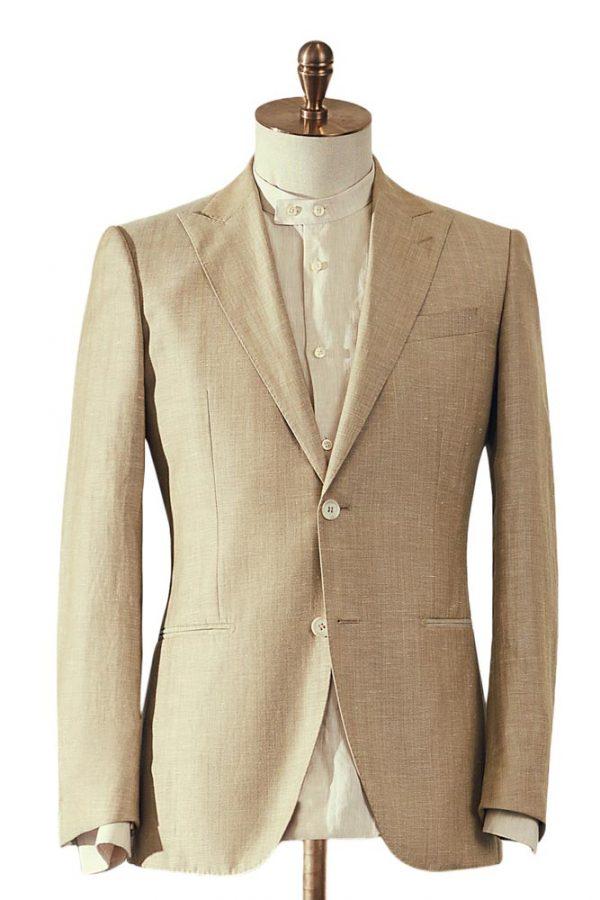 Beige Jacket Cream Trouser 2