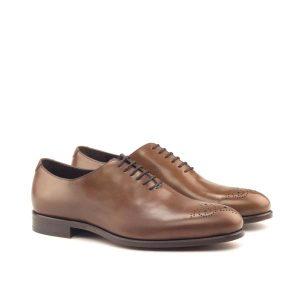 Brown Whole Cut Shoe