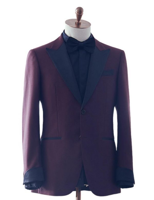 Burgundy Dinner Suit 2