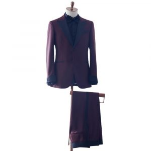Burgundy Dinner Suit