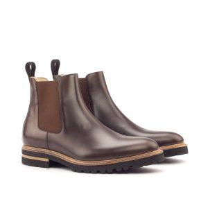 Dark Brown Chelsea Boot