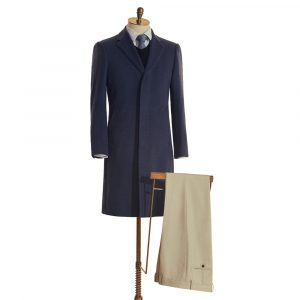 Fly Front Overcoat