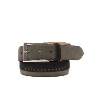 Grey Suede Belt