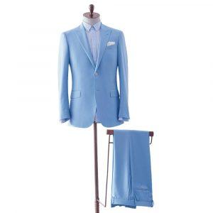 Light Blue Two Piece Suit