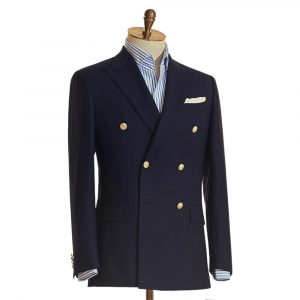 Navy Boating Double Breasted Suit