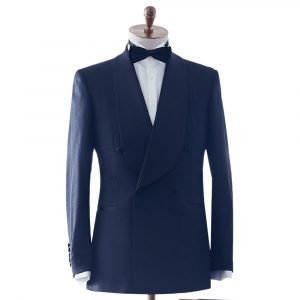 Navy Shawl Lapel Dinner Suit