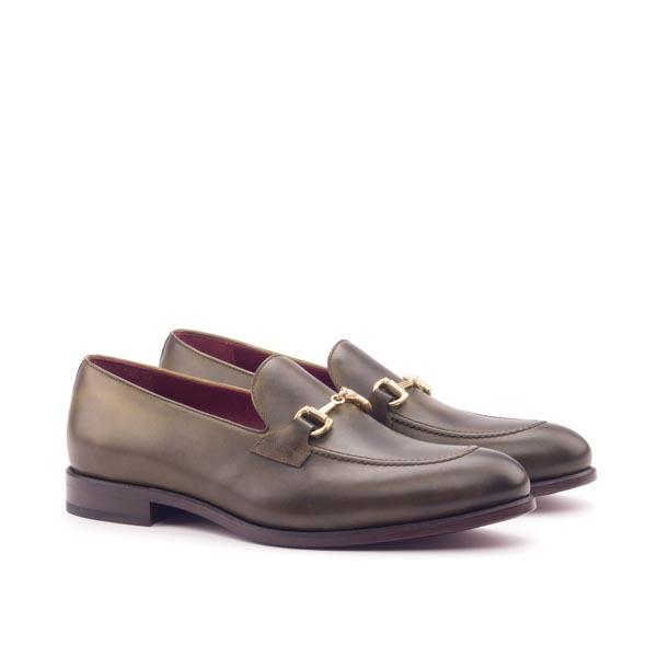 Olive loafer