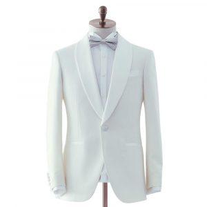 White Dinner Suit