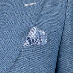 Light Blue Hopsack Jacket