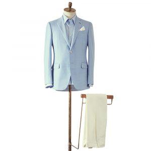 Light Blue Summer Jacket