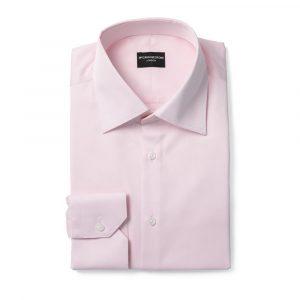 Pink Twill Formal Shirt