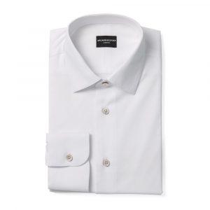 White Medium Collar Shirt