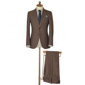 Brown Two Piece Suit