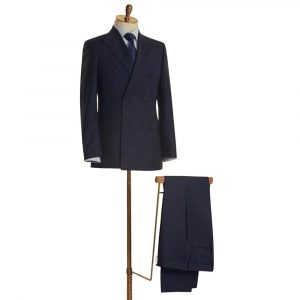 Classic Navy Double Breasted Suit